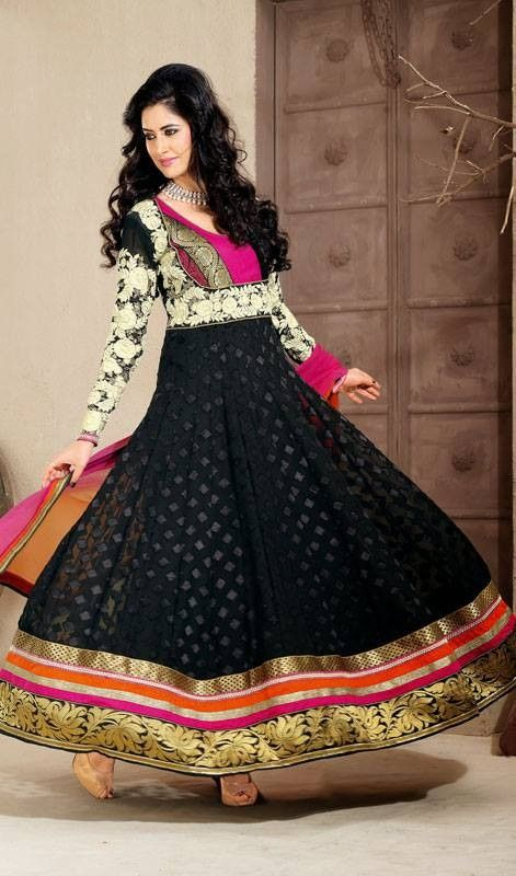 Latest Trend Of Indian Dresses For Girls 2014 6 | Party Dresses ...