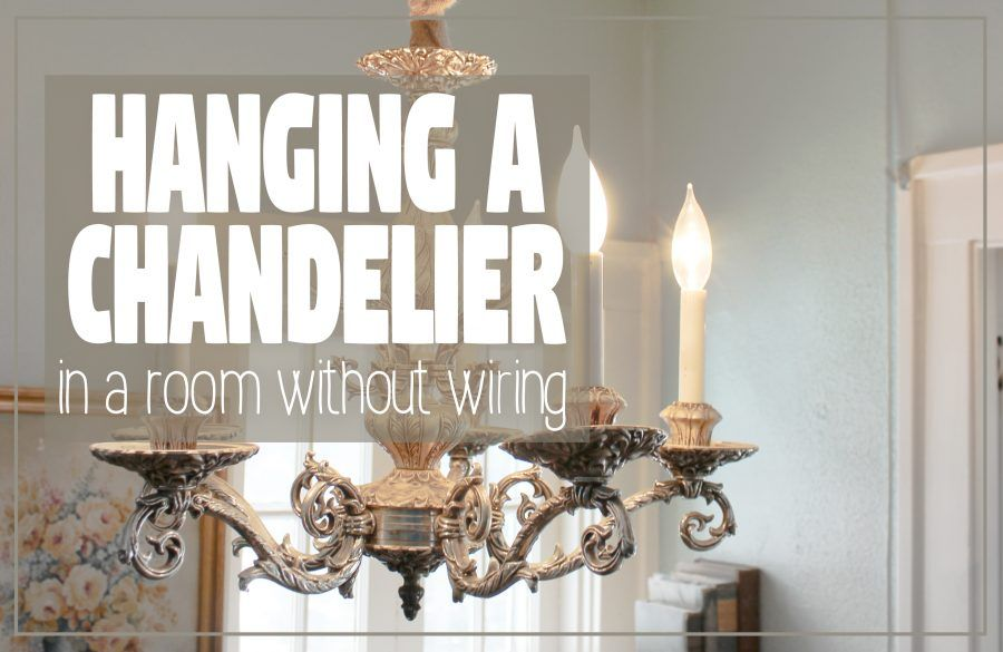 Simple DIY for creating a switch controlled ceiling-mount ... on Sconces No Electric Plug id=43131