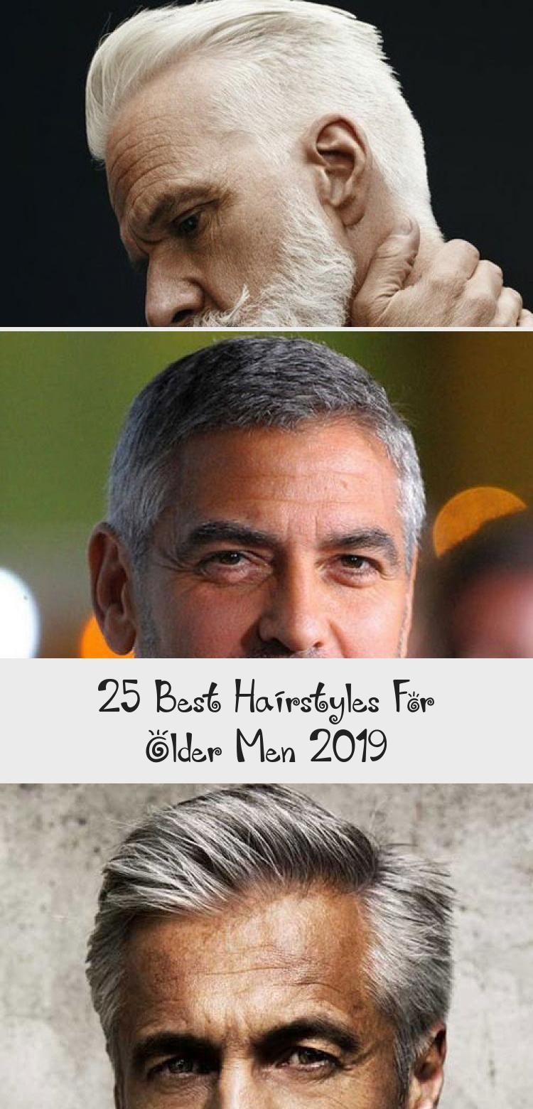 25 best hairstyles for older men 2019 older mens
