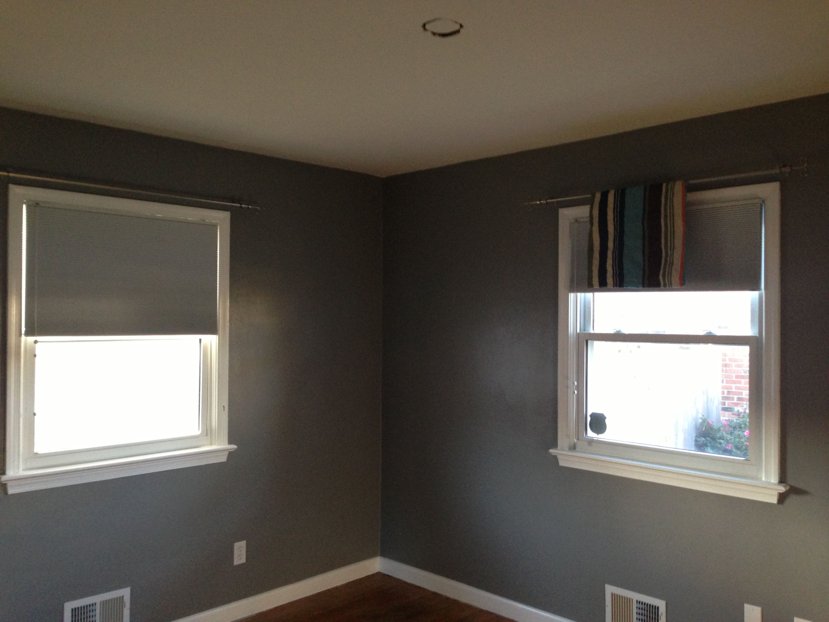 Anonymous By Behr This Gray For Breakfast Nook Master Bath Paige Accent