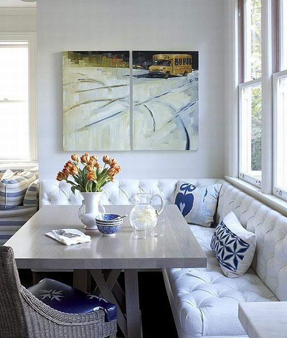 Cozy Elegant Breakfast Nook Dining Room Small Dining Nook
