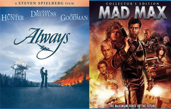 Coming Soon To Blu Ray And Dvd Mad Max Always Ford Fairlane