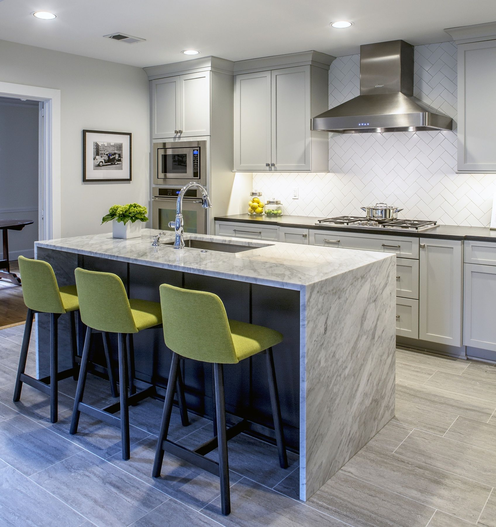 8 Tips And Tricks For Designing A Smart And Stylish Kitchen. Black Granite  CountertopsStylish ...