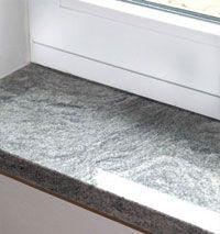 Fensterbank nero impala innen tolle sachen aus granit - Fensterbank einbauen ...