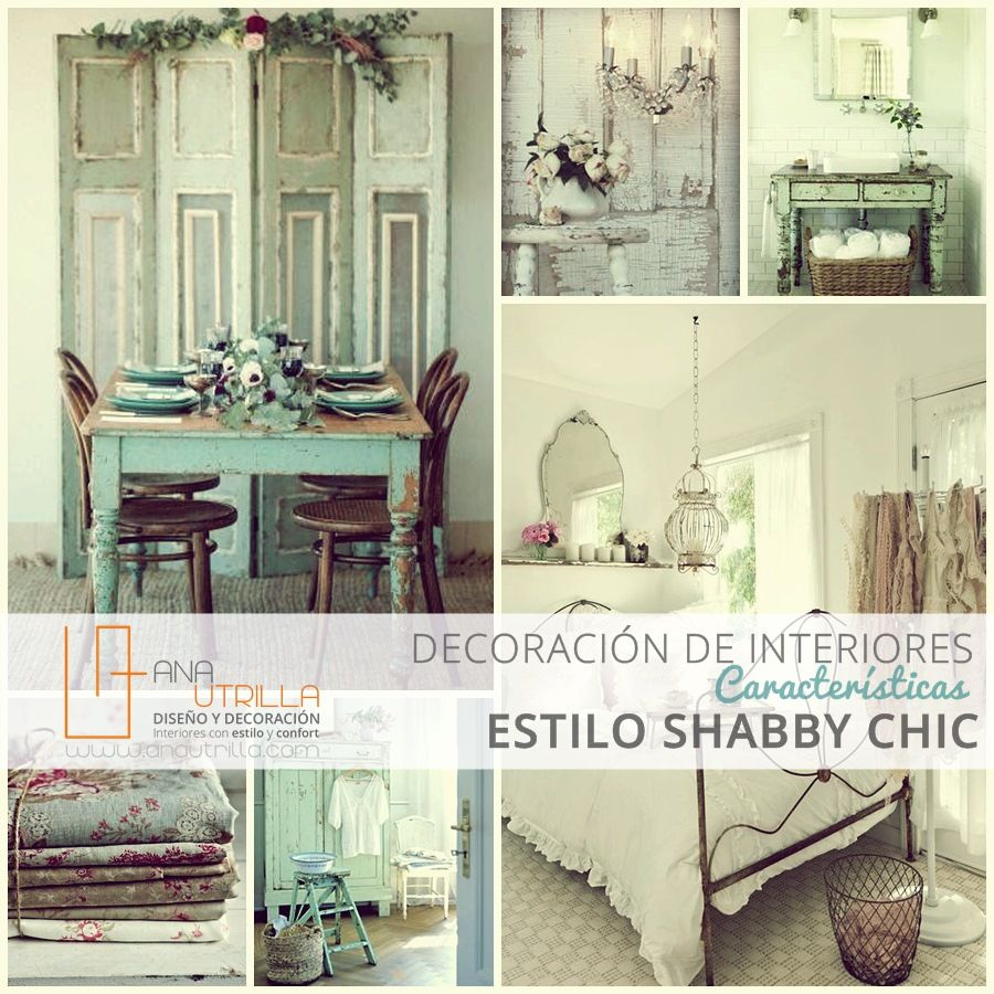 Decoración de interiores Estilo #ShabbyChic Características ...