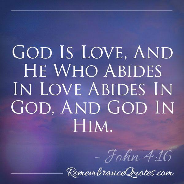 Bible Verse Epitaph John 4 16 A Wonderful Phrase For The