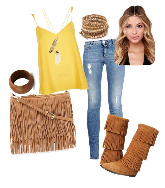 """Leather Fringe"" by diamondsnfurs on Polyvore"