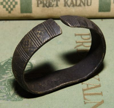 Ancient Viking Bronze Bracelet With Ornament Very Rare Ancient Vikings Norse Jewelry Bronze Bracelets