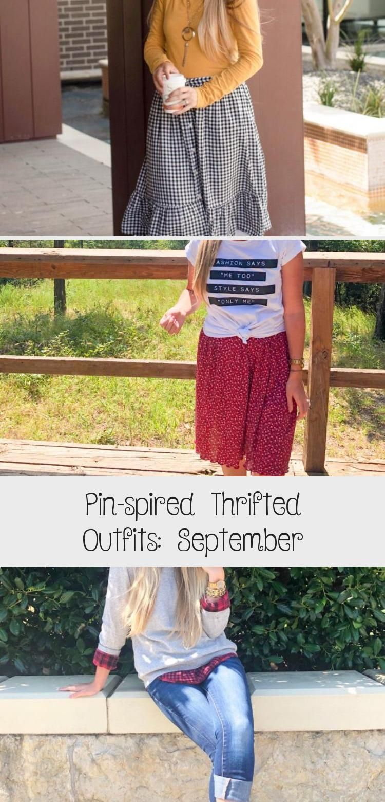 Pin-spired Thrifted Outfits: September - FASHIONATE | A2VIDS #churchoutfitfall