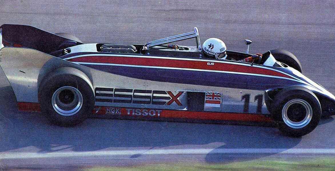 Elio De Angelis...Team Essex Lotus...Lotus 88...Motor Ford Cosworth DFV V8 3.0...1981