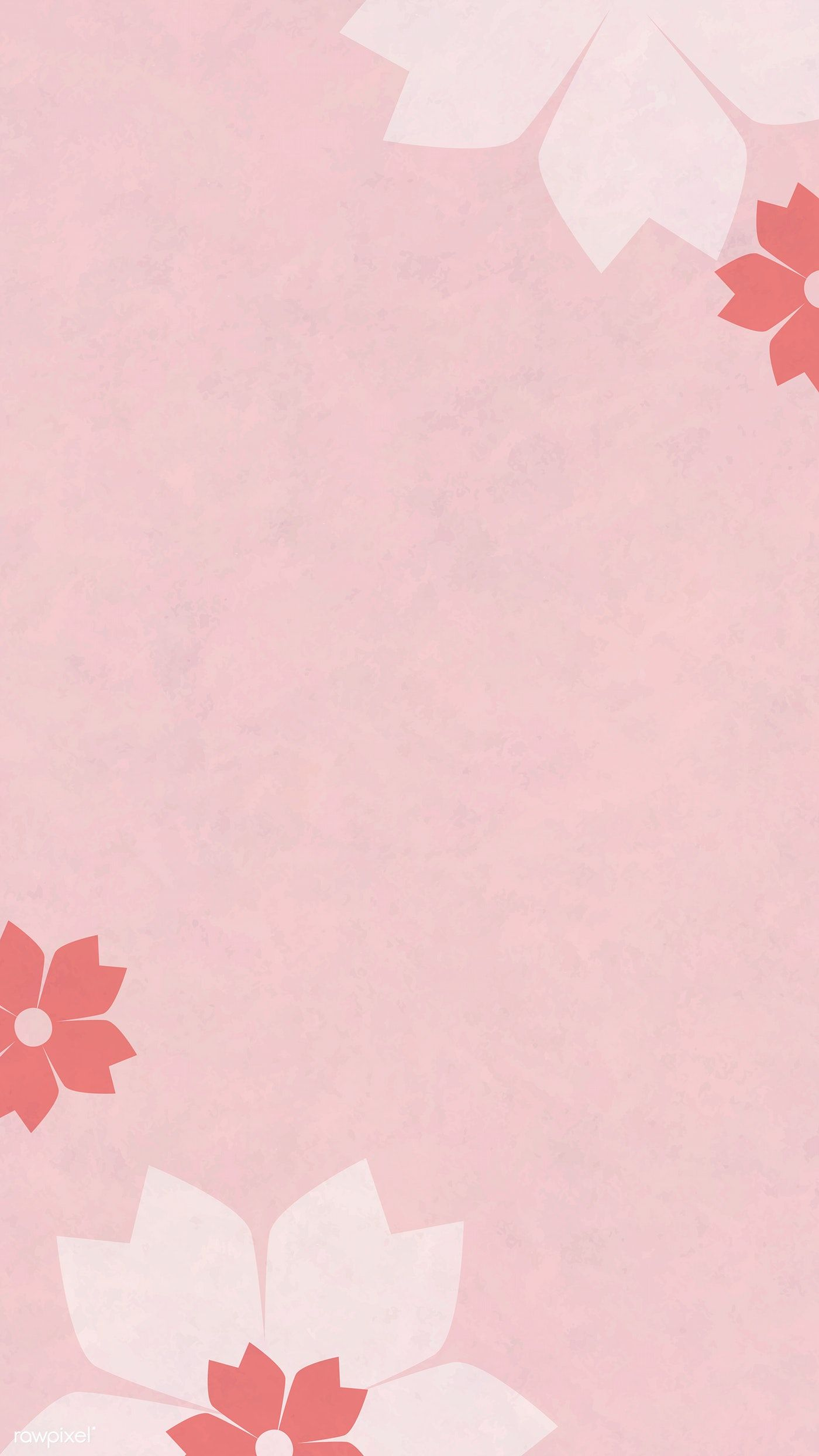 Japanese pink cherry blossom background mobile phone