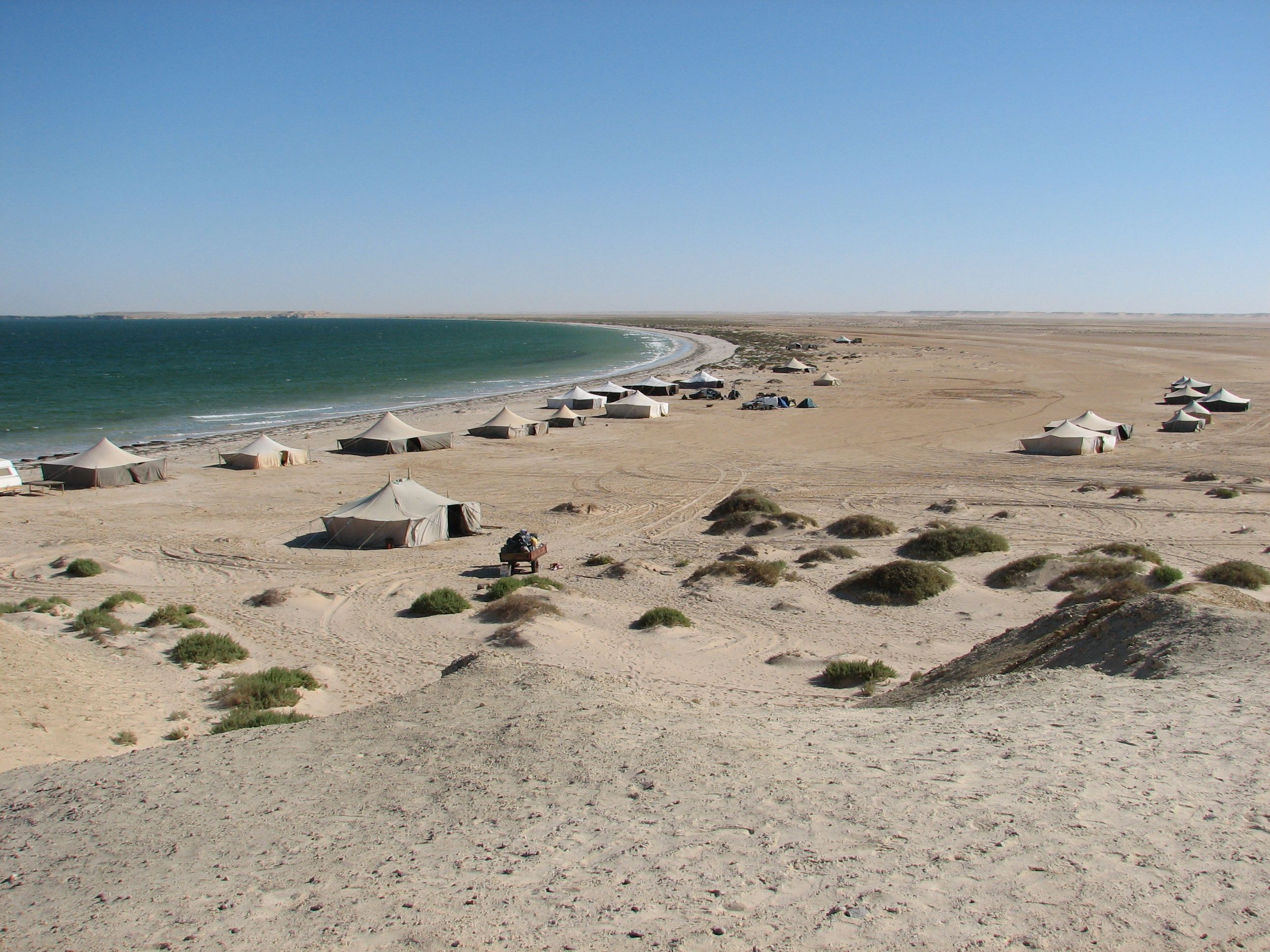 Banc Darguin National Park Nouadhibou And Azefal Mauritania