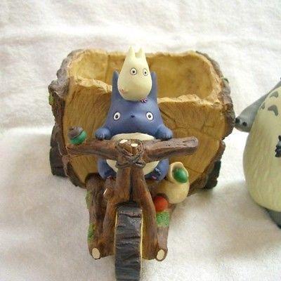 Nuevo Mi Vecino Totoro Maceta jardinería Colección Triciclo & Forest De Japón