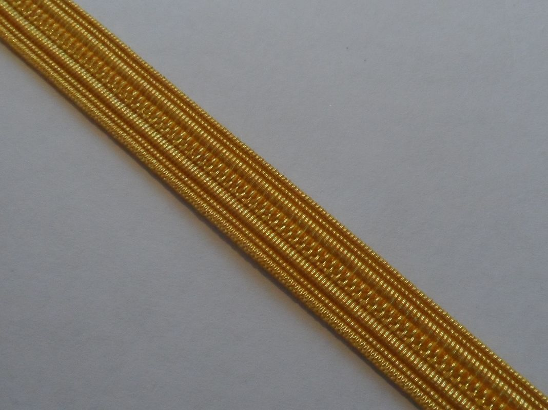 Bullion Wire Gold Naval Lace Cello 8mm 0 25inch Braid