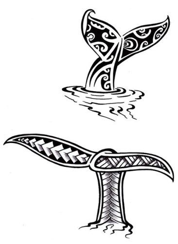 Croquis dessin tatouage queue baleine maori polyn sien tattoo ideas pinterest maori - Baleine dessin ...
