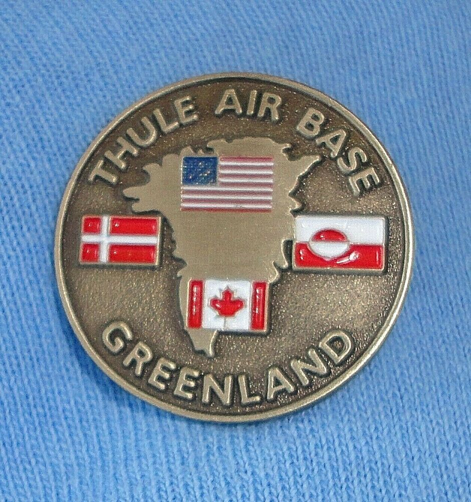 NEW Thule Air Base Hat Lapel Pin USA Greenland Denmark