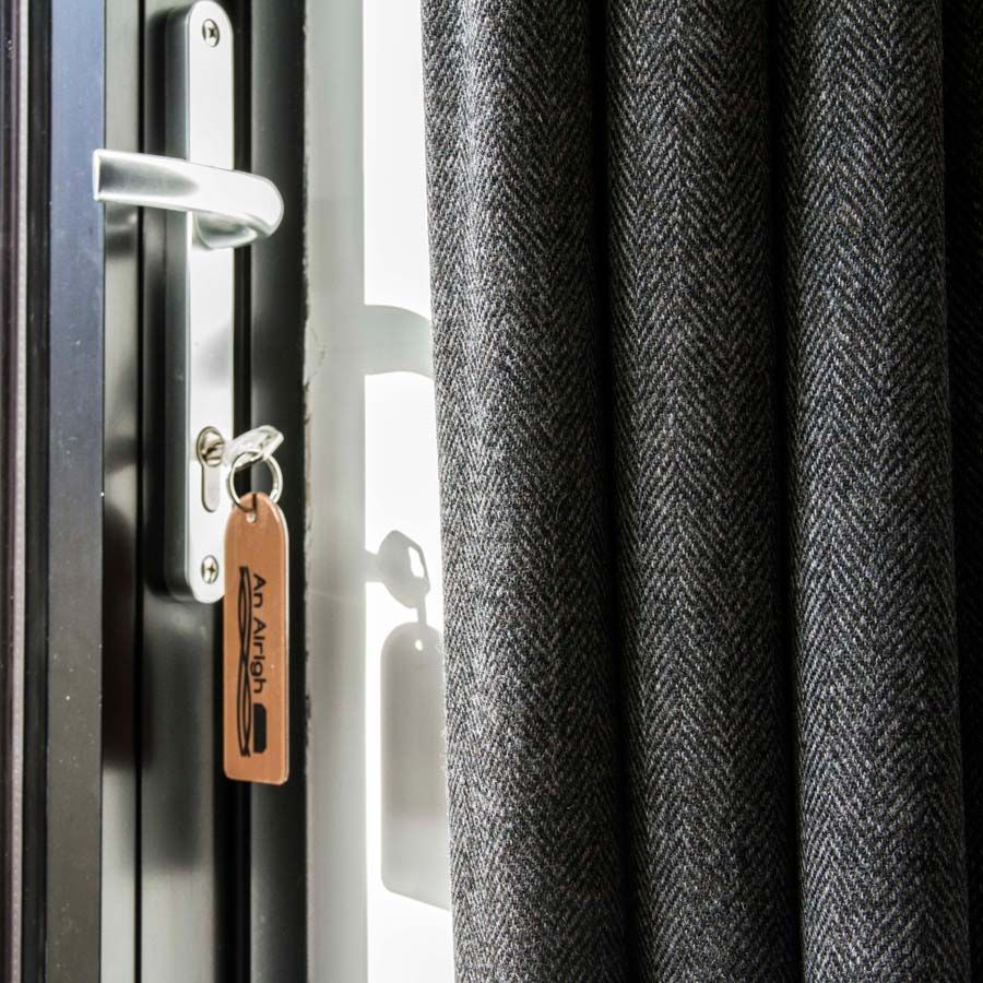 We Offer A Custom Made Service For Tweed Curtains And Blinds. To Ensure A  Good
