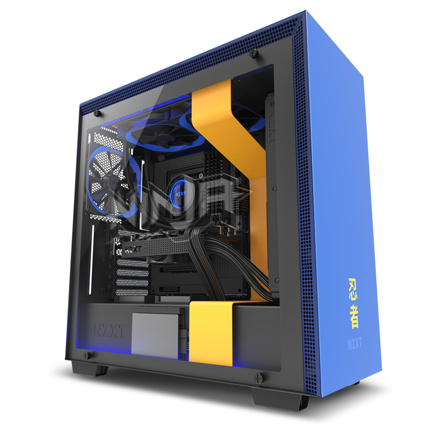 Victory Royale Nzxt Scores With The H700i Ninja Edition Ninja Atx Graphic Card