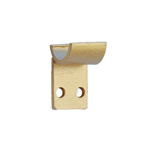 Tapestry Rod Bracket Stays Close To Wall Curtain Brackets
