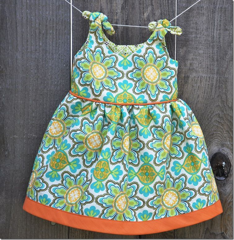 Free Pattern at Made by Rae - love the piping and hem | Sewing-Baby ...