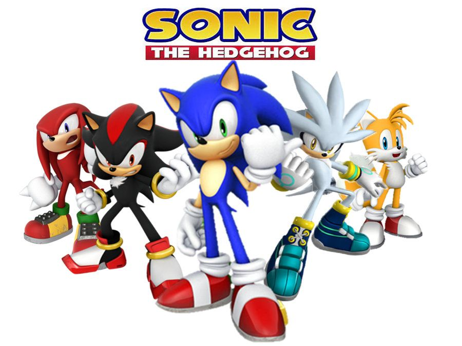 Sonic Characters Wallpaper By Thedominator277 Character