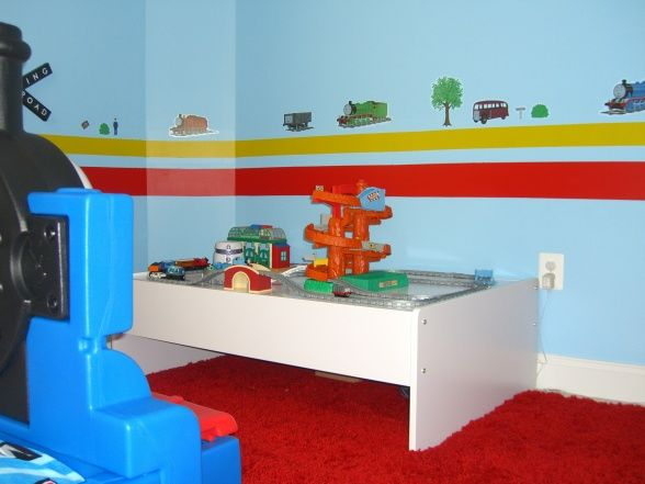 Thomas Room Idea | Thomas Stuff for Zac | Pinterest | Room ideas ...