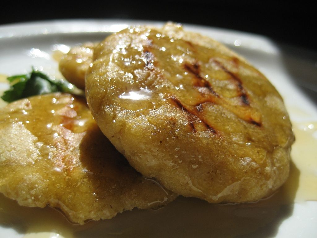 Masa Corn Cakes with Honey