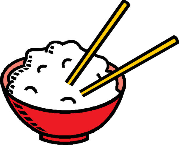 Vector Clip Art Online Royalty Free Public Domain Rice Bowls Food Clipart Food Tattoos