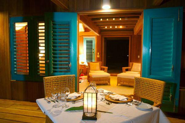 Romantic Bungalow In Caribbean Island, Casa Ventanas Casa Ventanas Bungalow Interior  Design In Caribbean Island