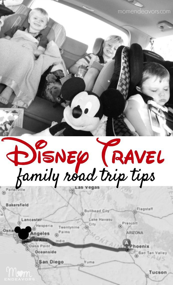 disney travel road trip tips - fun tips & ideas for a disney family