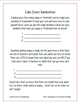 anger management lesson plans pdf