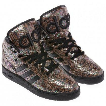 buy popular d8215 7ef24 RAINBOW SNAKESKIN! adidas X Jeremy Scott | Shoes | Adidas Shoes ...