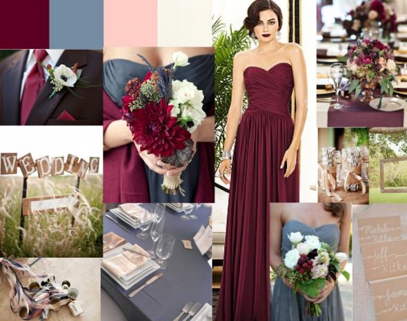Color Help Burgundy And Slate Blue Weddingbee Burgundy And Grey Wedding Slate Blue Wedding Maroon Wedding
