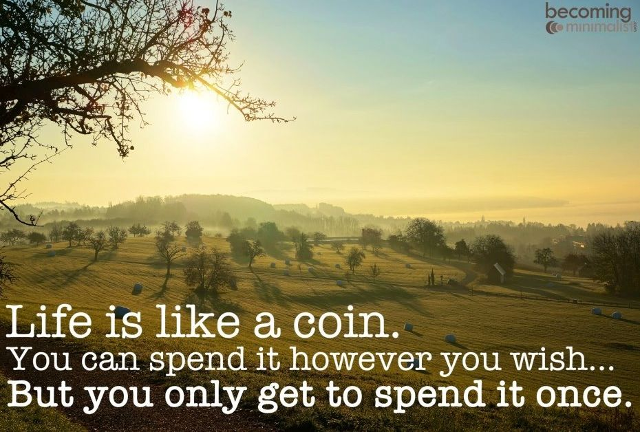 Facebook Stock Quote Life Is Like A Coin Quote Via Becoming Minimalist On Facebook At Www .