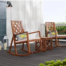 The Best Outdoor Furniture For Small Spaces In 2020 Farmhouse Rocking Chairs Best Outdoor Furniture Rocking Chair