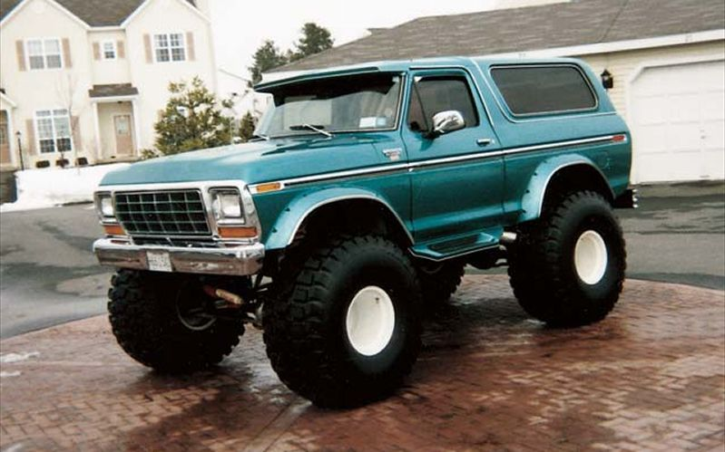 1979 Ford Bronco 1979 Ford Bronco Front Driver Side View Suvs