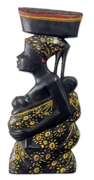African mother and child wood wall sculpture appreciation novica also hand carved  good heart ii rh pinterest