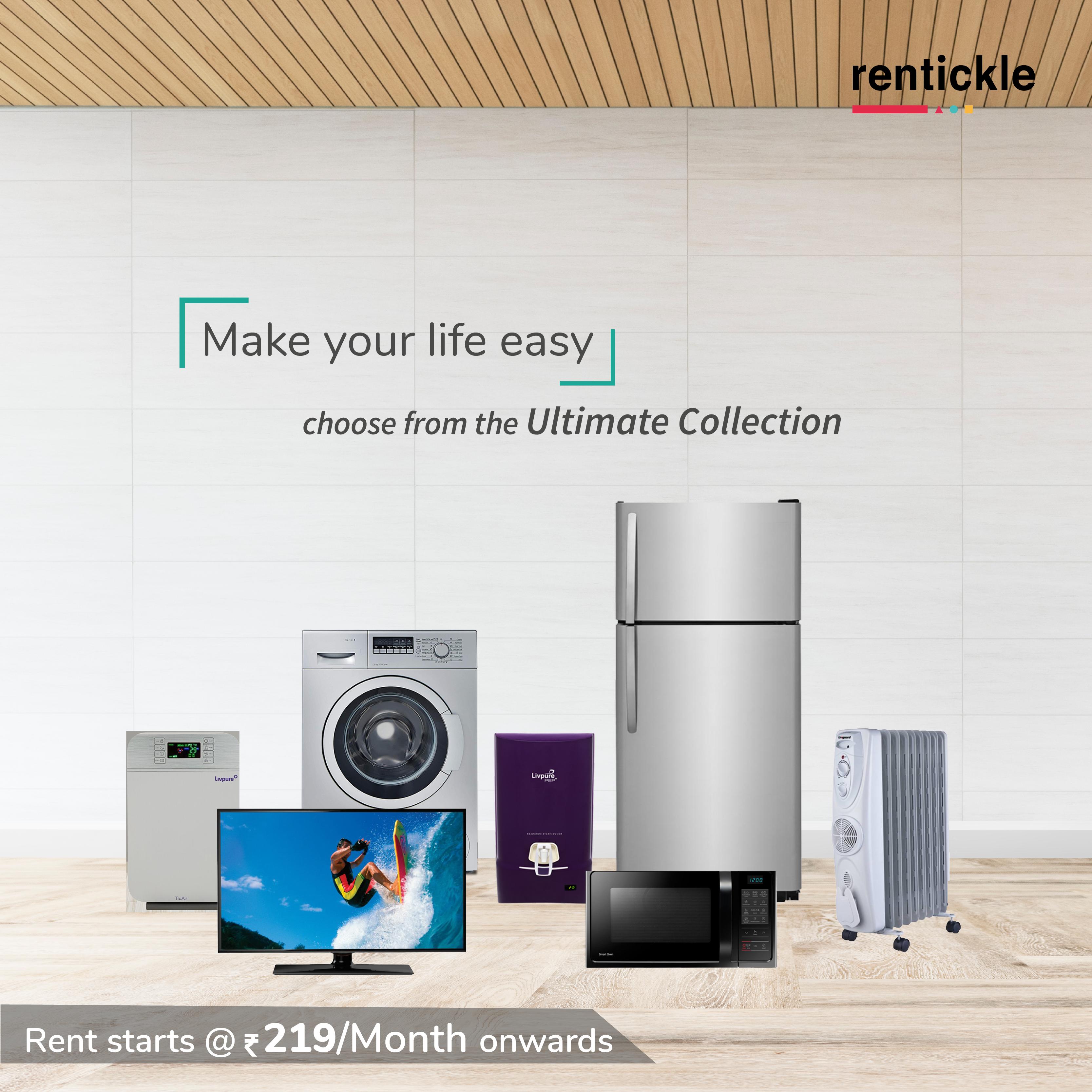 Living Room Interiordesign Bangalore: Rent, Modern Appliances, Small Space