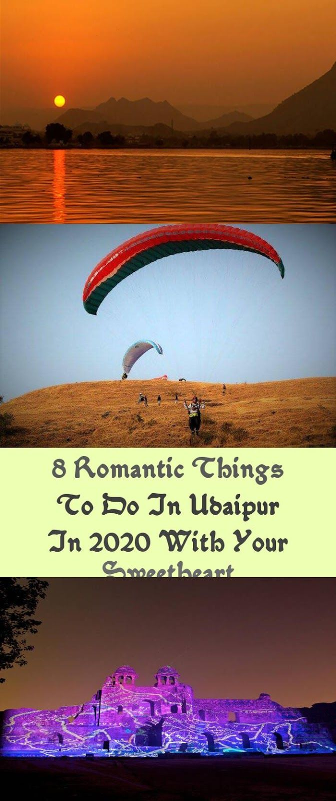 Eight Romantic Issues To Do In Udaipur In 2020 With Your Sweetheart