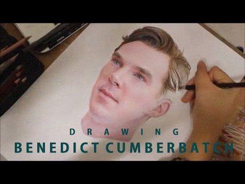 Drawing Benedict Cumberbatch