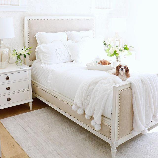 pretty fresh deluxe kids bedroom design | KRISTY WICKS--Fresh White Bedroom in 2019 | Home decor ...