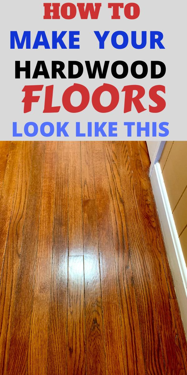 How To Really Make Your Hardwood Floors Shine Like Crazy