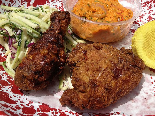 AYCE Fried Chicken at Roy Choi's A-Frame by MyLastBite, via Flickr