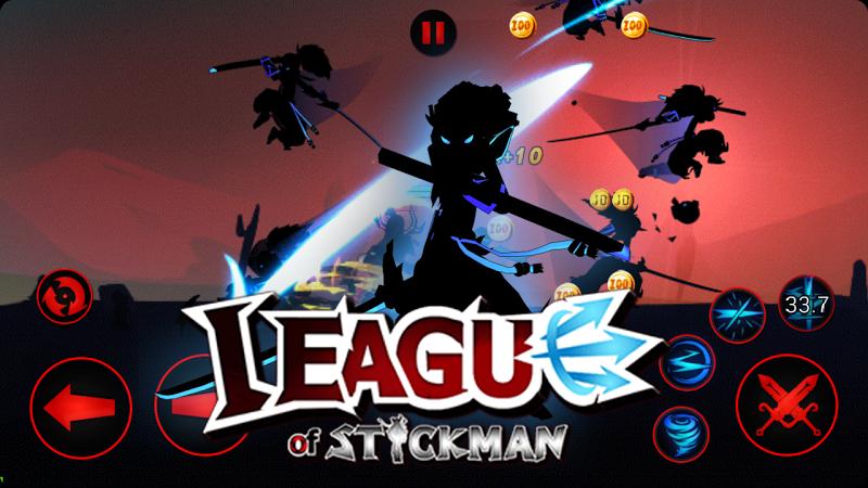 League of Stickman Warriors v3.3.1 (Mod) Apk Mod Data