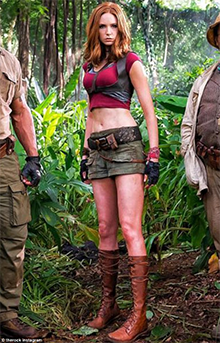 Image result for Karen Gillan – Jumanji: Welcome to the Jungle