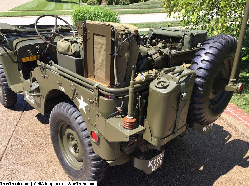 Military Jeeps For Sale and Military Jeep Parts For Sale - 1952 M38