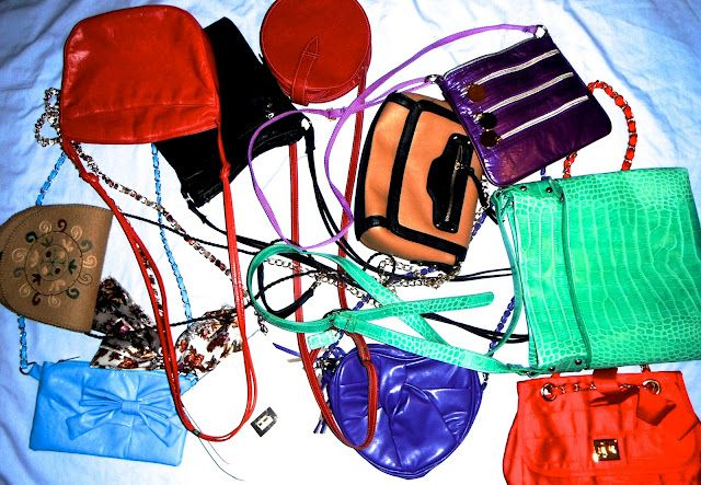 MY SLING BAGS!