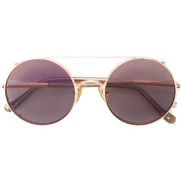 round framed sunglasses - Metallic Sunday Somewhere 5Pi88