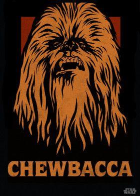 Lego Star Wars Chewbacca Icon : chewbacca, Chewbacca', Metal, Poster, Print, Displate, Icons,, Chewbacca,