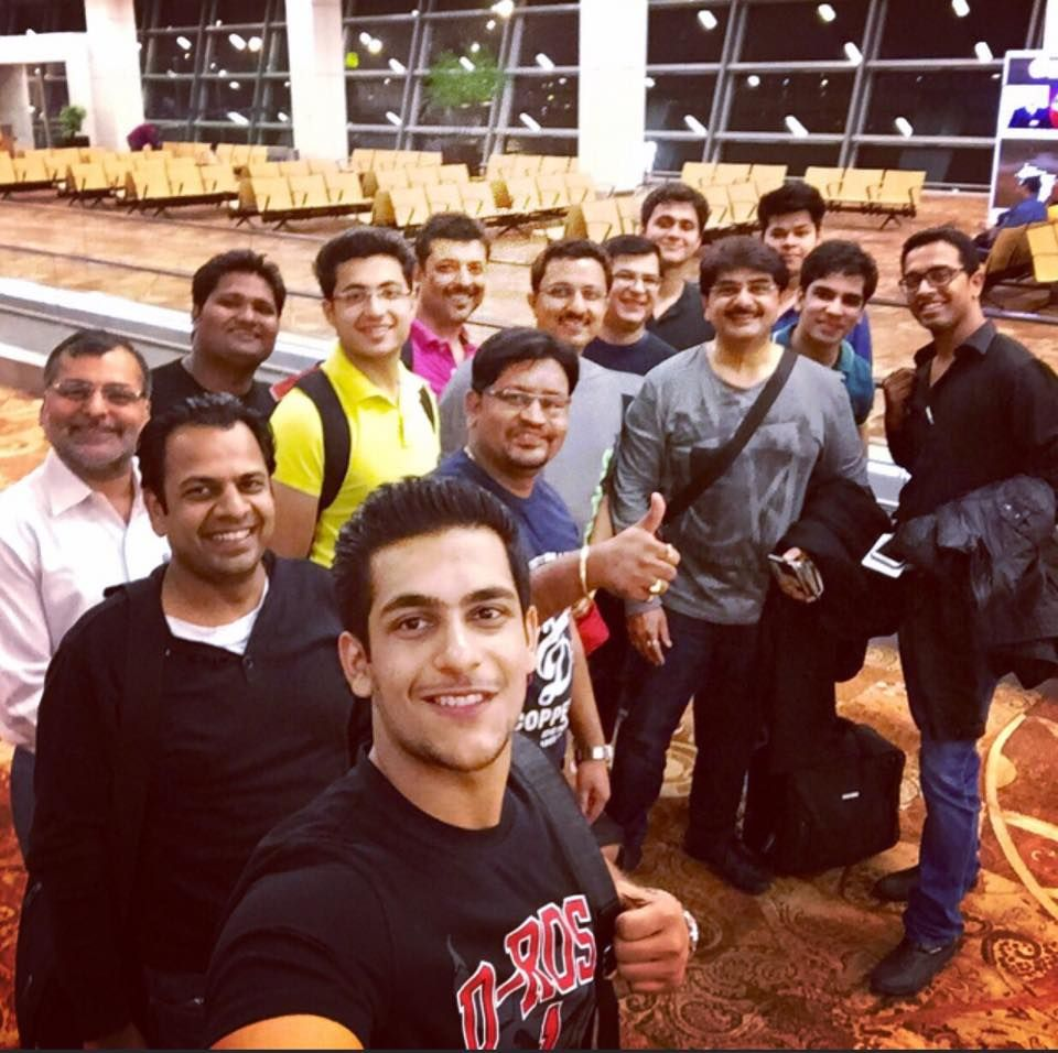 15 member strong Team from #IamSMEofIndia on way to #HannoverMesse... Great feeling!